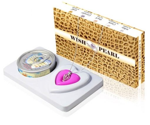 Wish Pearl Gift Set Yellow Brown Box