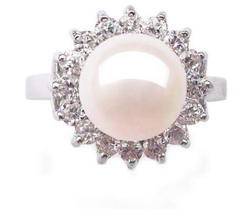 925 sterling silver flower ring