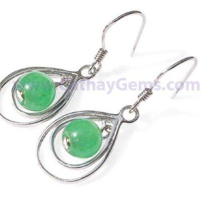 Genuine Jade Earrings