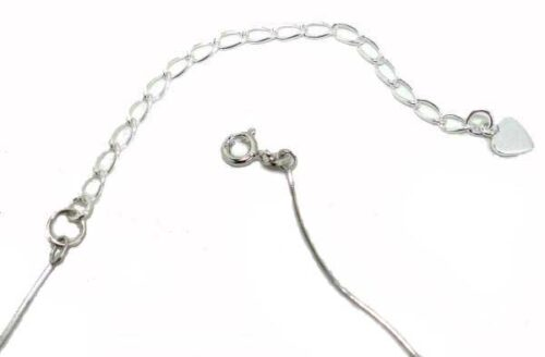 2in Long SS Extension Chain with a Jump Ring
