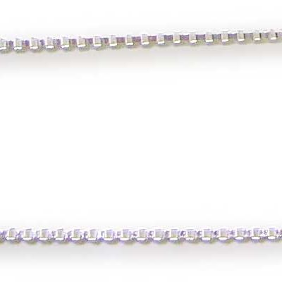 18inch Long Sterling Silver Box Chain
