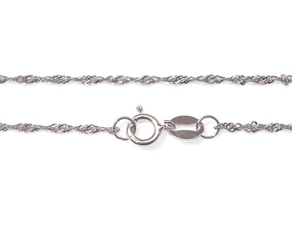925 SS 20in Twisted Serpentine Style Chain