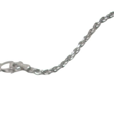Thick 925 Sterling Silver Rope Chain with Lobster Clasp