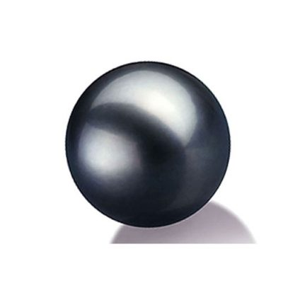 10mm Tahitian Loose Black Pearl Half Drilled