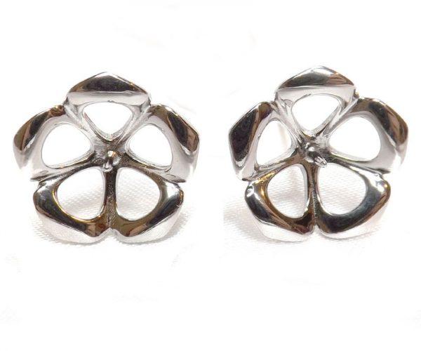925SS Earrings Studs Setting