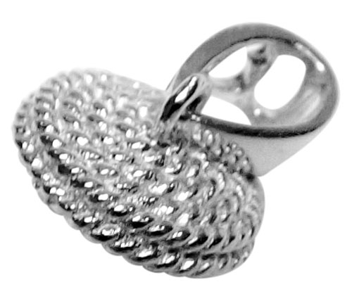925S Silver Pendant Setting with a Large Cap