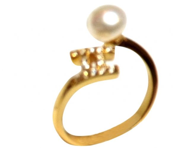 18KY Gold Over 925 Sterling Silver Ring Setting