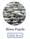biwa pearl beads strands