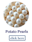 potato pearl beads strands