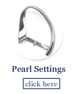 pearl findings and settings
