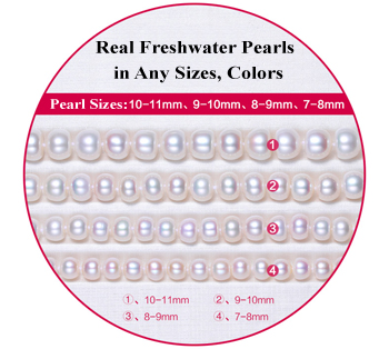 pearl strands button