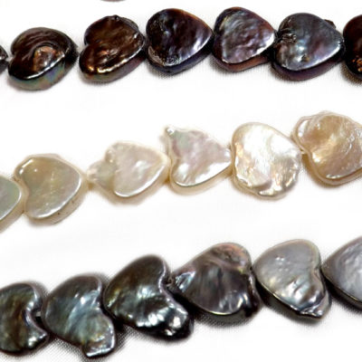 Heart shaped Coin Pearls