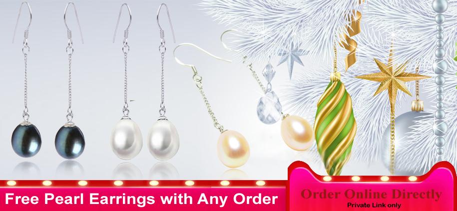 free pearl earrings