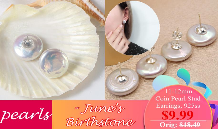 pearls earrings on sale