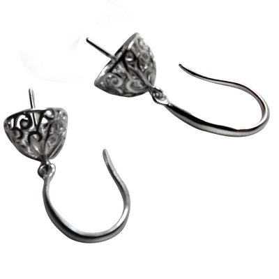 Silver Earrings Settings