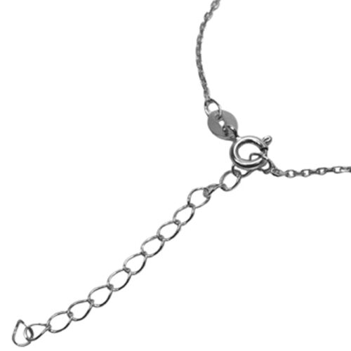 925 sterling silver chain with built in extension