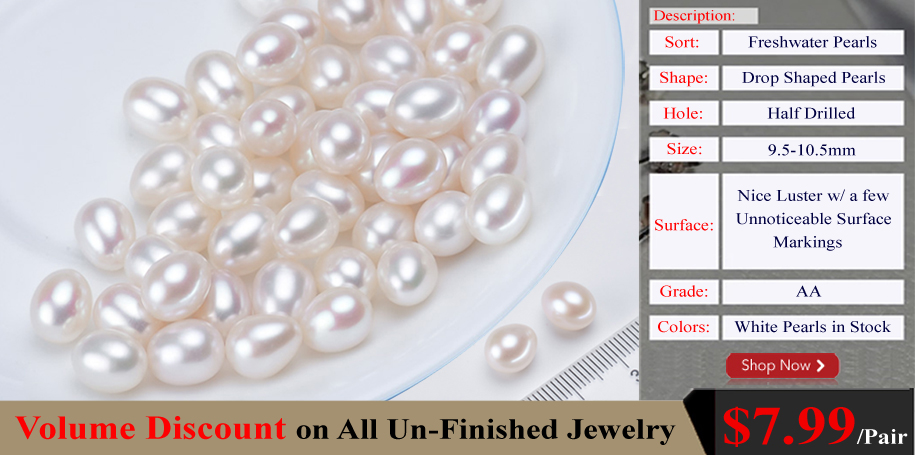 loose drop pearls