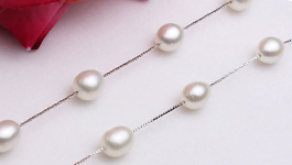 Rice Pearl Necklaces