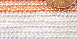 button pearls strands