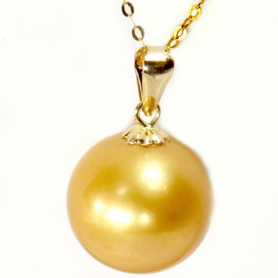 18k yellow gold edison pearl