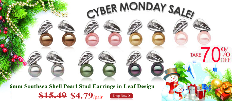 pearl earrings clearance