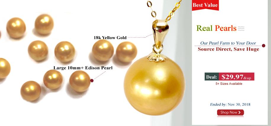 pearl pendant for cyber week sale