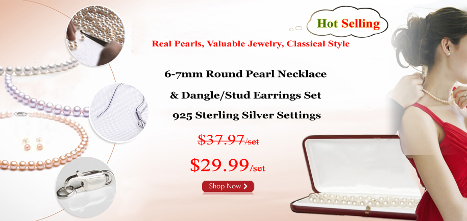 pearl sets for cyber week sale