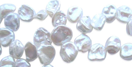 12mm Keshi Pearls