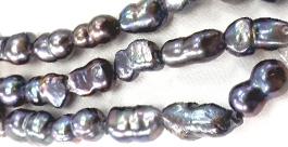 Black Peanut Pearls