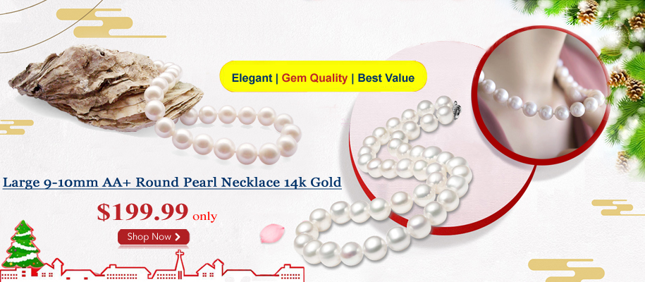 christmas pearl necklace on sale