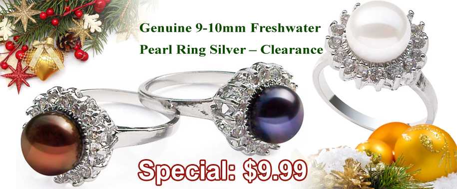 pearl rings on sale