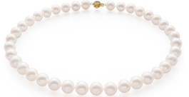12mm Round Pearl Necklace