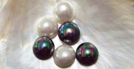 mabe shell pearls