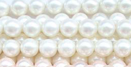white shell pearls