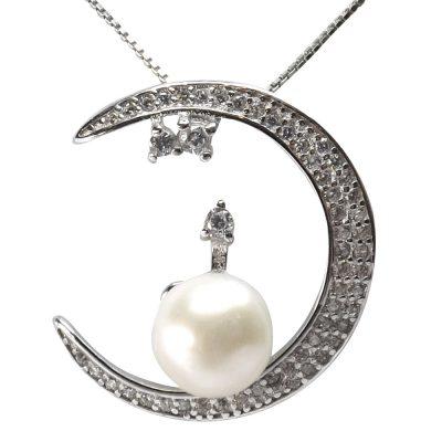 925 silver pearl pendant