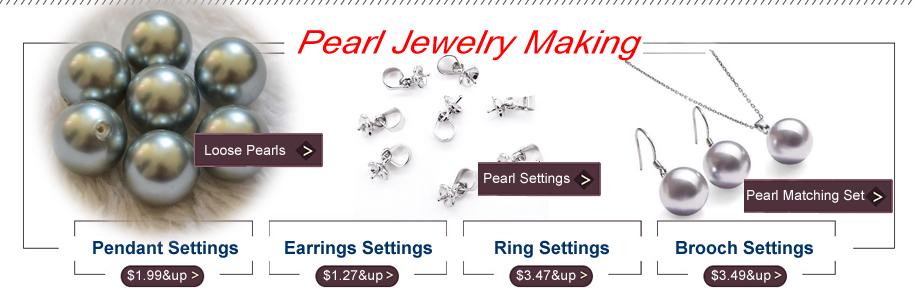 grey pearls settings