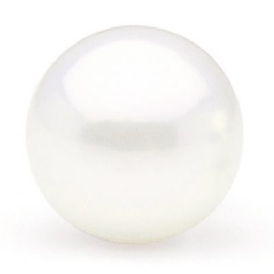 Undrilled AAA 14mm white Edison pearl
