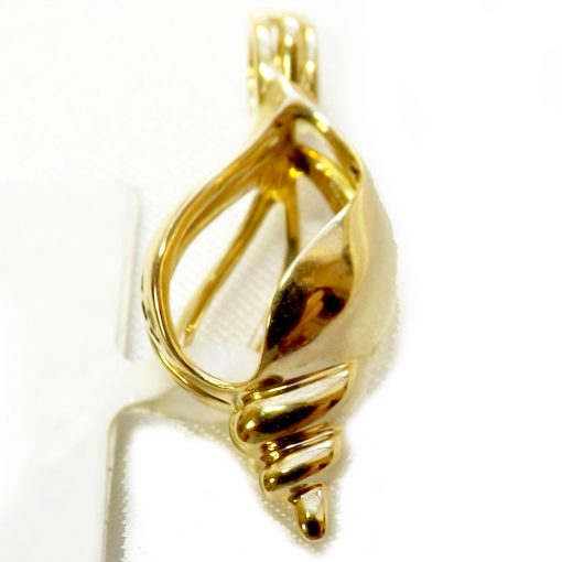 18K yellow gold cage