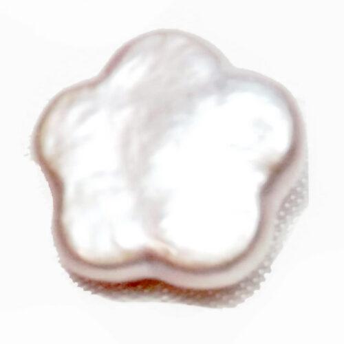 Single Coin pearl flower shape