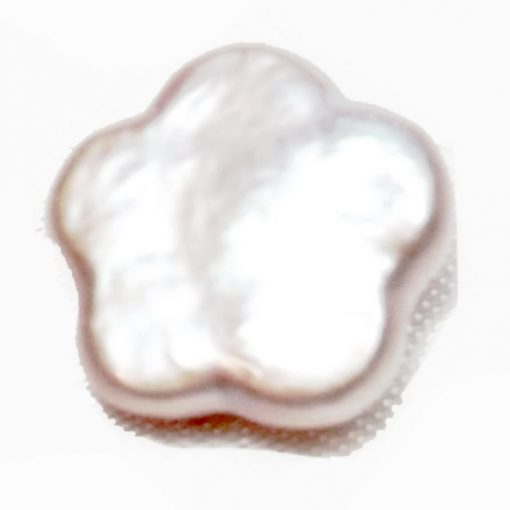 Single Coin pearl flower shape