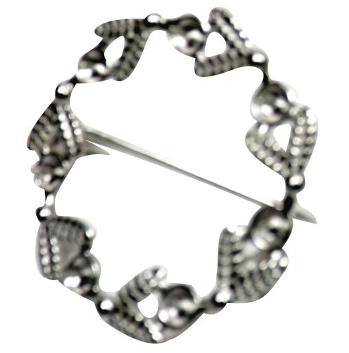 925 Sterling Silver Brooch Setting
