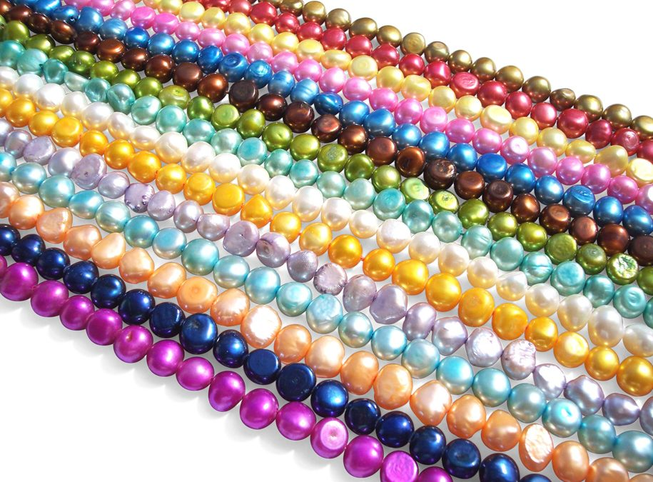 Colored Freshwater Pearls and Pearl Jewelry