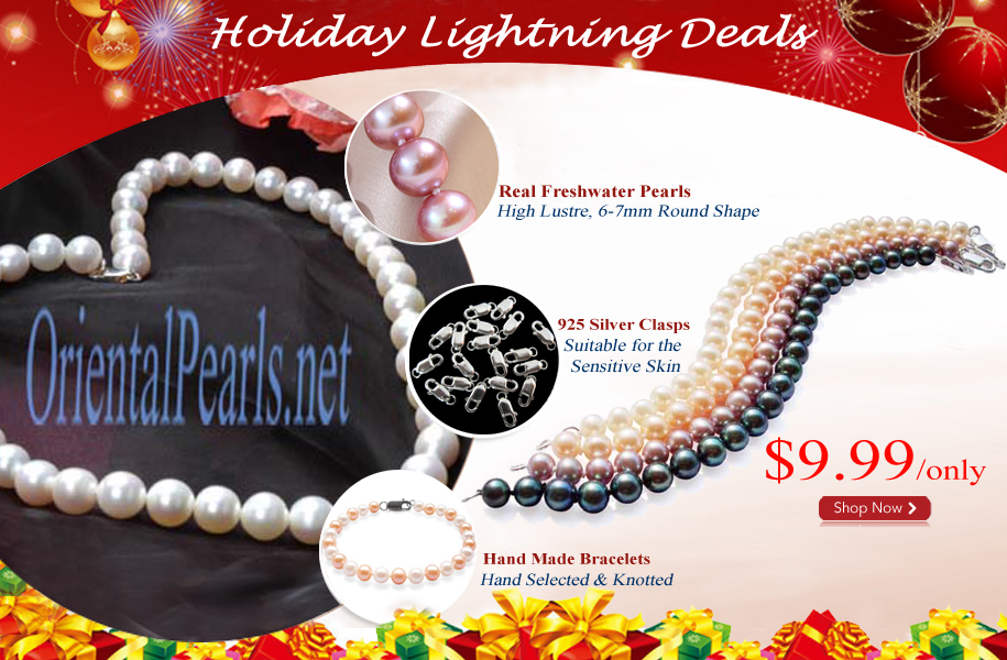 holiday pearl bracelets 2