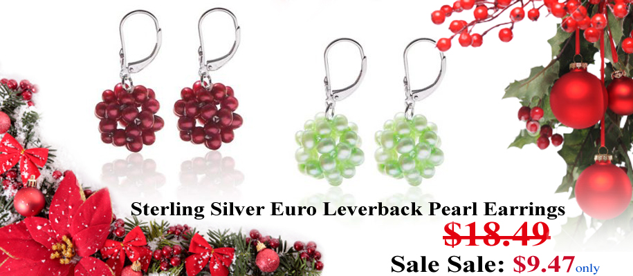 pearl earrings on sale