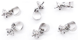pearl pendants settings