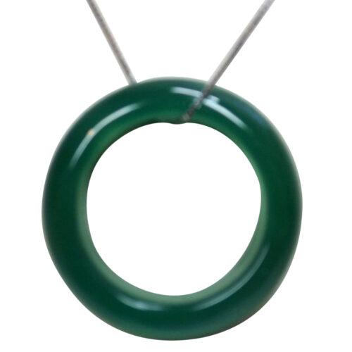 jade silver pendant necklace