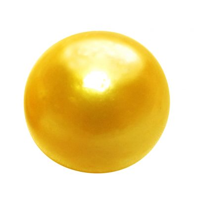 Gold South Sea Single Loose Pearl Undrilled