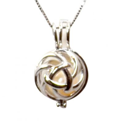 bullseye sterling silver locket