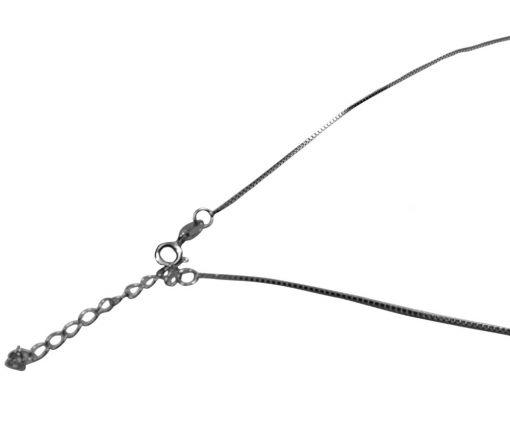 adjustable length 925 sterling silver box chain