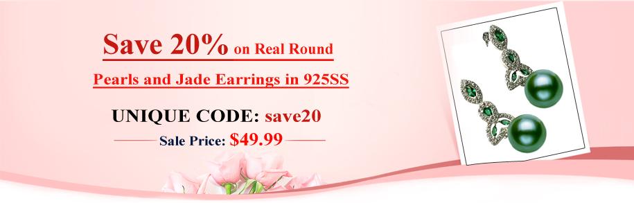 pearl earrings discount sale